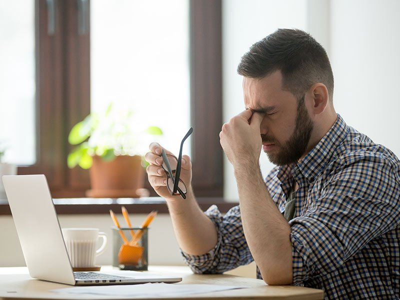 Calling all men – are you stressed out?