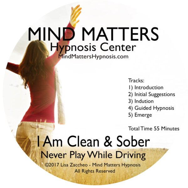 I am clean and sober