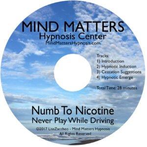 Numb to nicotine